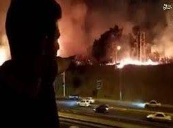 ایران؛ فهرست تکاندهنده از آتشسوزیهای زنجیرهای