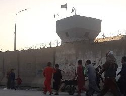 خروج شهروندان آمریکا زیر حملات راکتی به فرودگاه کابل