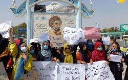 فیلم؛ ایستادگی زنان شجاع افغان در برابر وحوش طالبان