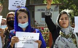 كارزار زنان افغان علیه طالبان: به لباسم دست نزن!+فیلم