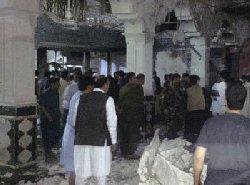 کابل؛ انفجار در مراسم فاتحه خوانی مادر سخنگوی طالبان